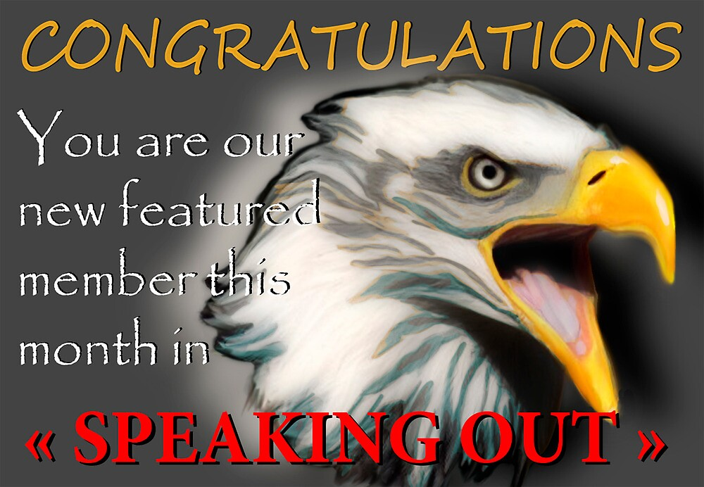 """""""Speaking out """" group banner  by Marilyns"""