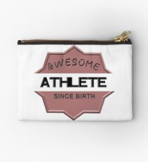 Awesome Athlete Since Birth Studio Pouch