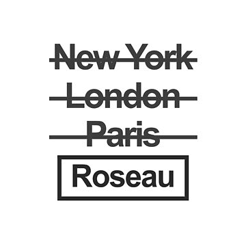 Dominica Roseau City Text design by GetItGiftIt