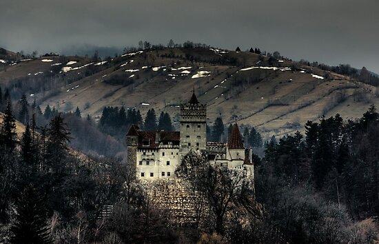 Dracula's Castle by Béla Török