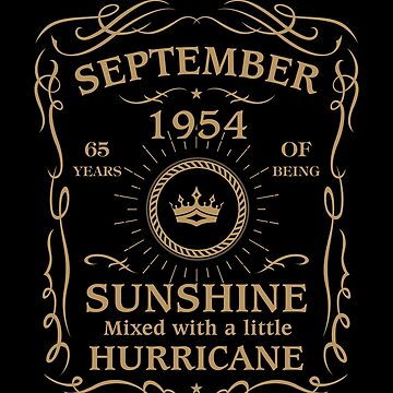 September 1954 Sunshine Mixed With A Little Hurricane by lavatarnt