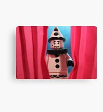 Stage Fright Canvas Print