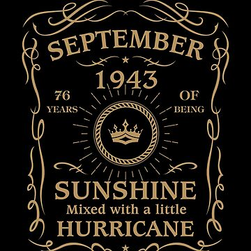 September 1943 Sunshine Mixed With A Little Hurricane by lavatarnt