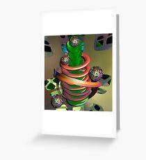 The Juggling machine Greeting Card