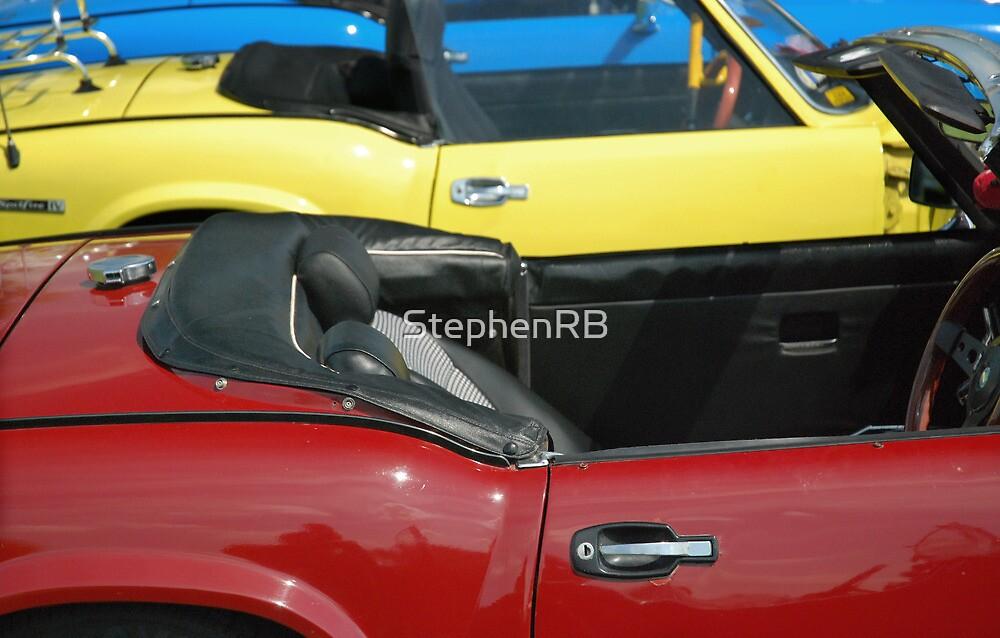 Three Sports cars by StephenRB