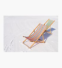 Have a seat! Photographic Print