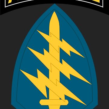 Special Forces (United States Army) by wordwidesymbols
