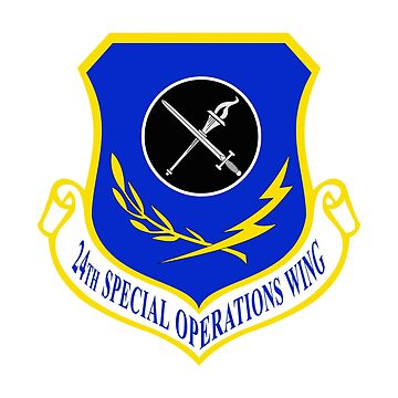 24th Special Operations Wing (USAF) by wordwidesymbols