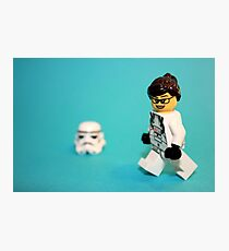 Lady Stormtrooper Photographic Print