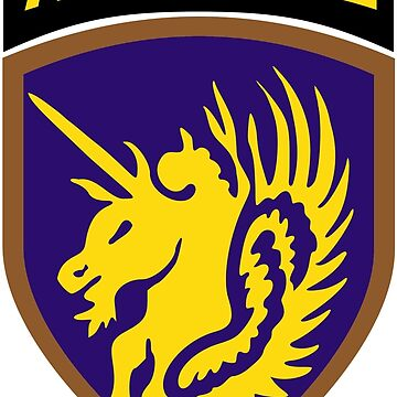 13th Airborne Division (United States - Historical) by wordwidesymbols
