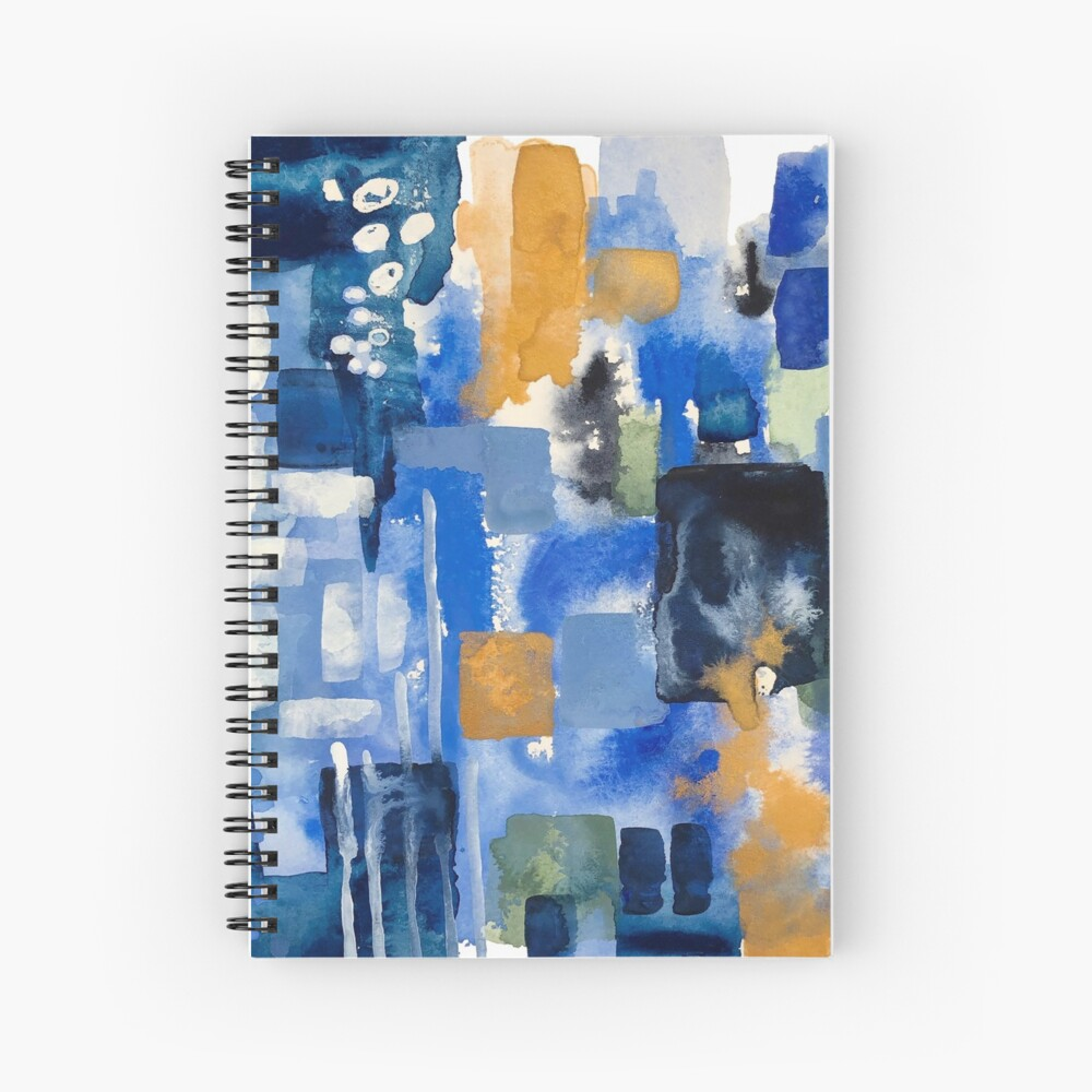 Ginger Jars Abstract Spiral Notebook