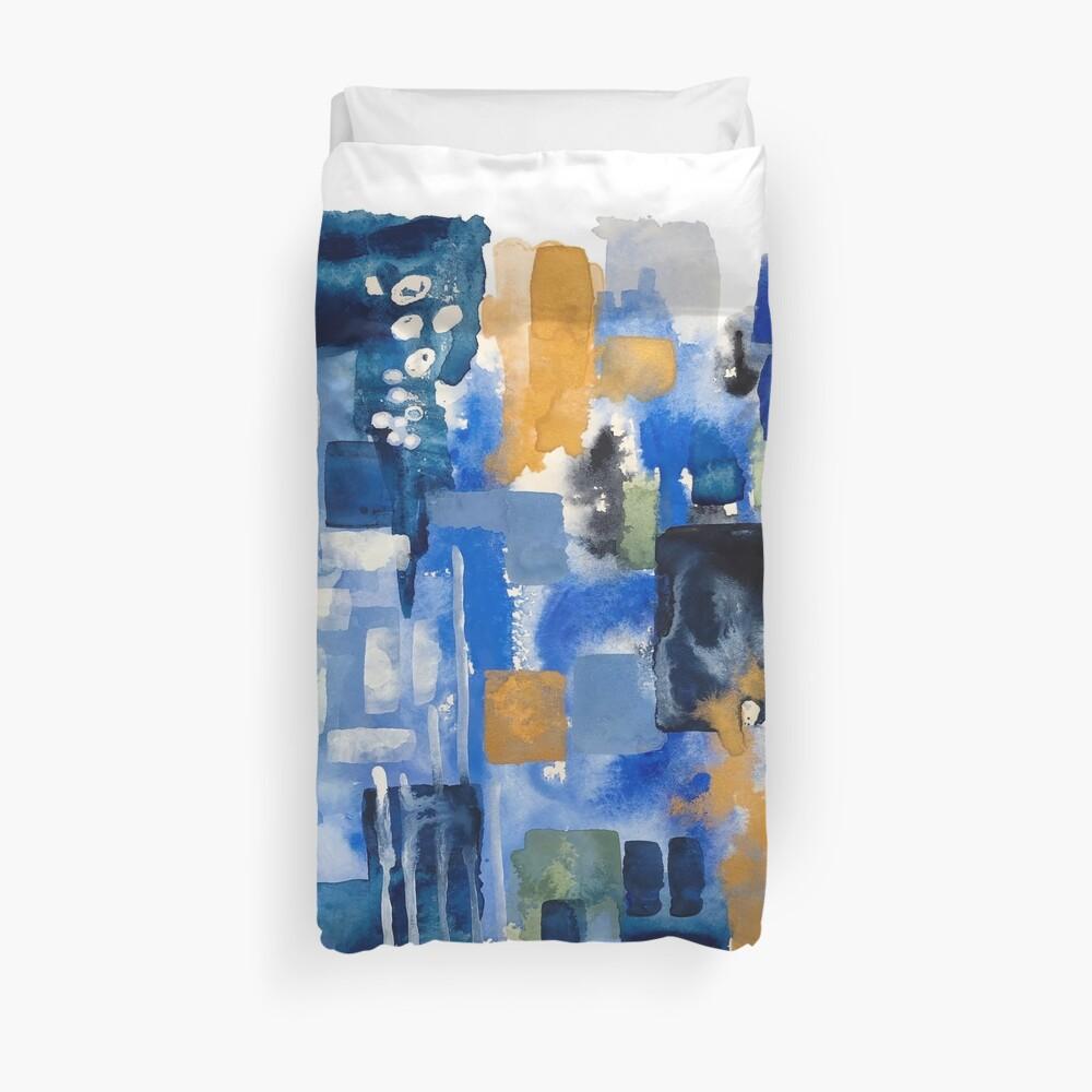 Ginger Jars Abstract Duvet Cover