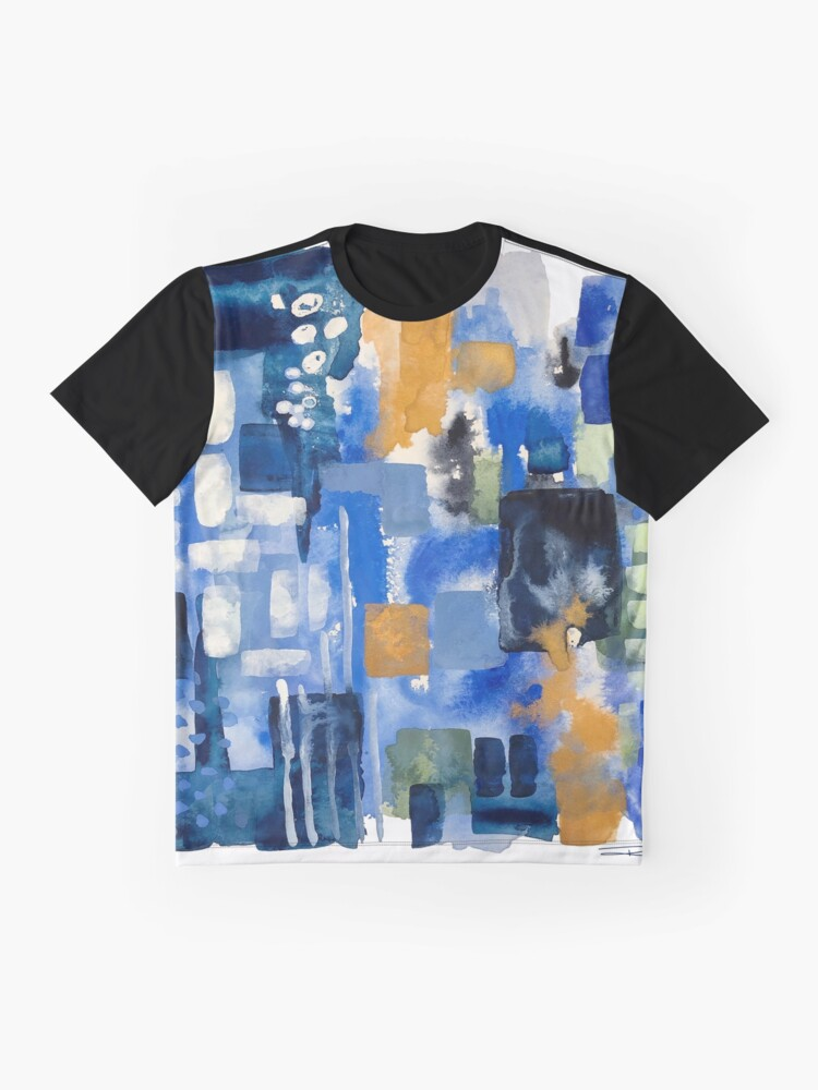 Alternate view of Ginger Jars Abstract Graphic T-Shirt