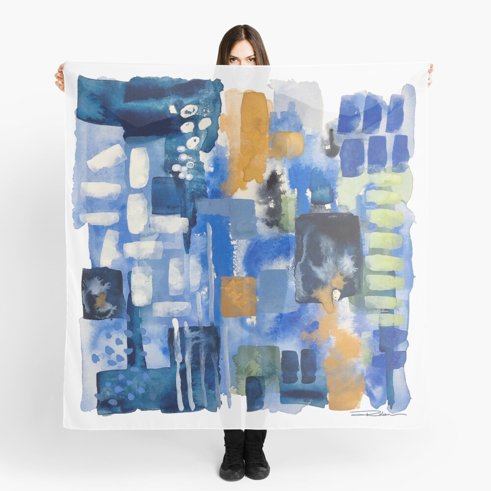 Ginger Jars Abstract Scarf
