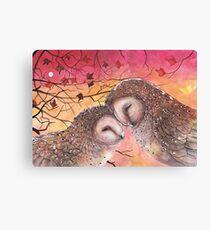 Lienzo Owl Cuddle