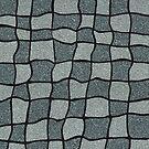 «Swirly Tweed Check Design - Gris» de Colin Majury