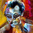 Portrait of the Prophet: Kalil Gibran by Alma Lee
