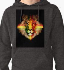 The Rasta Lion Pullover Hoodie