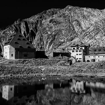 Gotthard Pass, Switzerland by PeterCseke