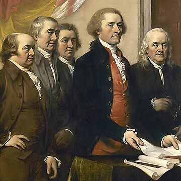 The Committee of Five, United States Declaration of Independence by TOMSREDBUBBLE