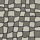 «Swirly Tweed Check Design - Beige» de Colin Majury