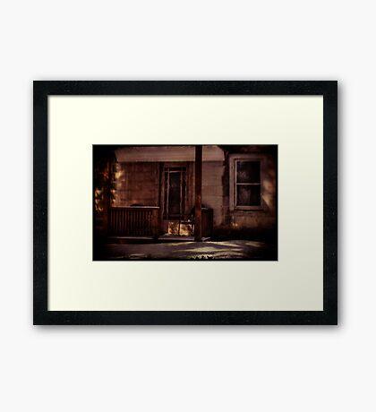 Mazer's Farmhouse Framed Print