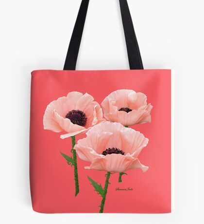 When You Say Nothing At All~ Poppies Tote Bag