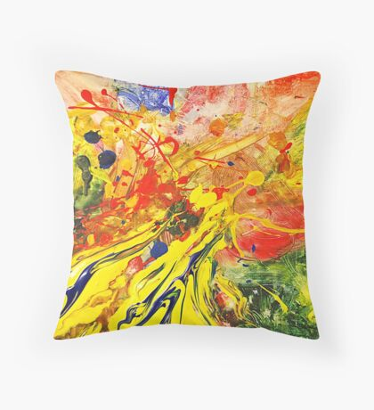 blurred Throw Pillow
