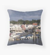 Beautiful Boothbay Harbor Throw Pillow