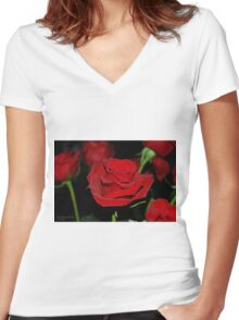 Devotion Women's Fitted V-Neck T-Shirt