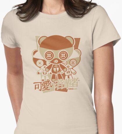 Teddy Mascot Stencil T-Shirt