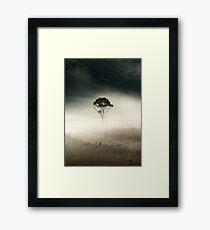the loner...... Framed Print