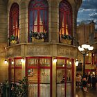 Vegas - Paris - Le Cafe by Michael Savad