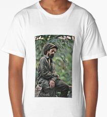 Damian Marley  Portrait Long T-Shirt