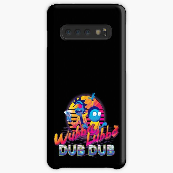 Rick and Morty Neon Samsung Galaxy Snap Case
