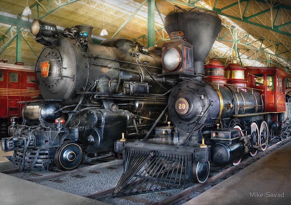 Train - Steam Locomotives by Michael Savad