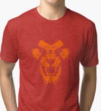 Feline Predator Design Tri-blend T-Shirt