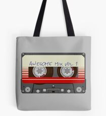 Guardians Awesome Mix Vol 1 Tote Bag