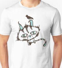 Teal Sky Kitty Unisex T-Shirt