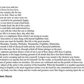 James Joyce Quotes by qqqueiru