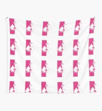 Pink Arrival Wall Tapestry