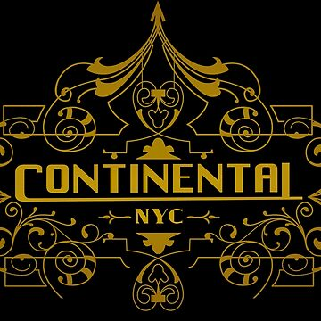 Continental by halfabubble