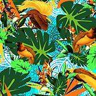 Paradiesvögel im Paradies von Lorloves Design von LorlovesDesign
