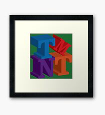 TMNT Framed Print