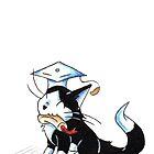 Tuxedo Grad by KOKeefeArt