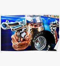 Guns Ablazing! Poster