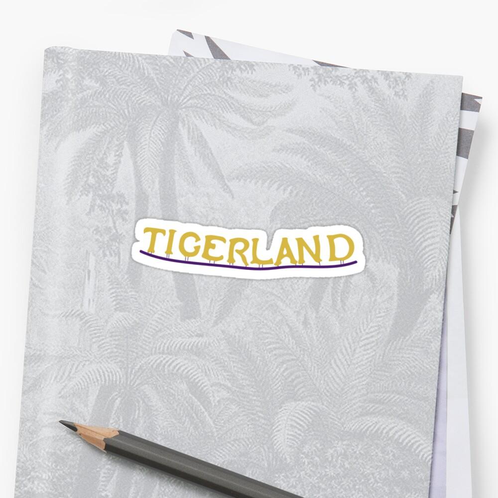 Tigerland- Größer Sticker