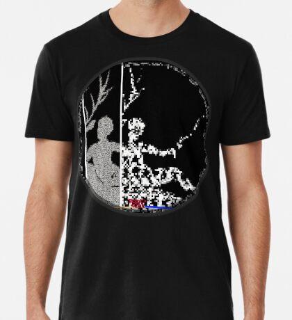 """Diane is b ^ ack"" [Ascii art pixelated by RootCat] * Premium T-Shirt"