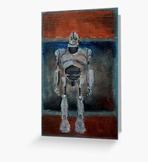 Iron Giant Greeting Card