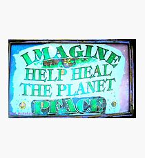 Heal the World~Peace Photographic Print